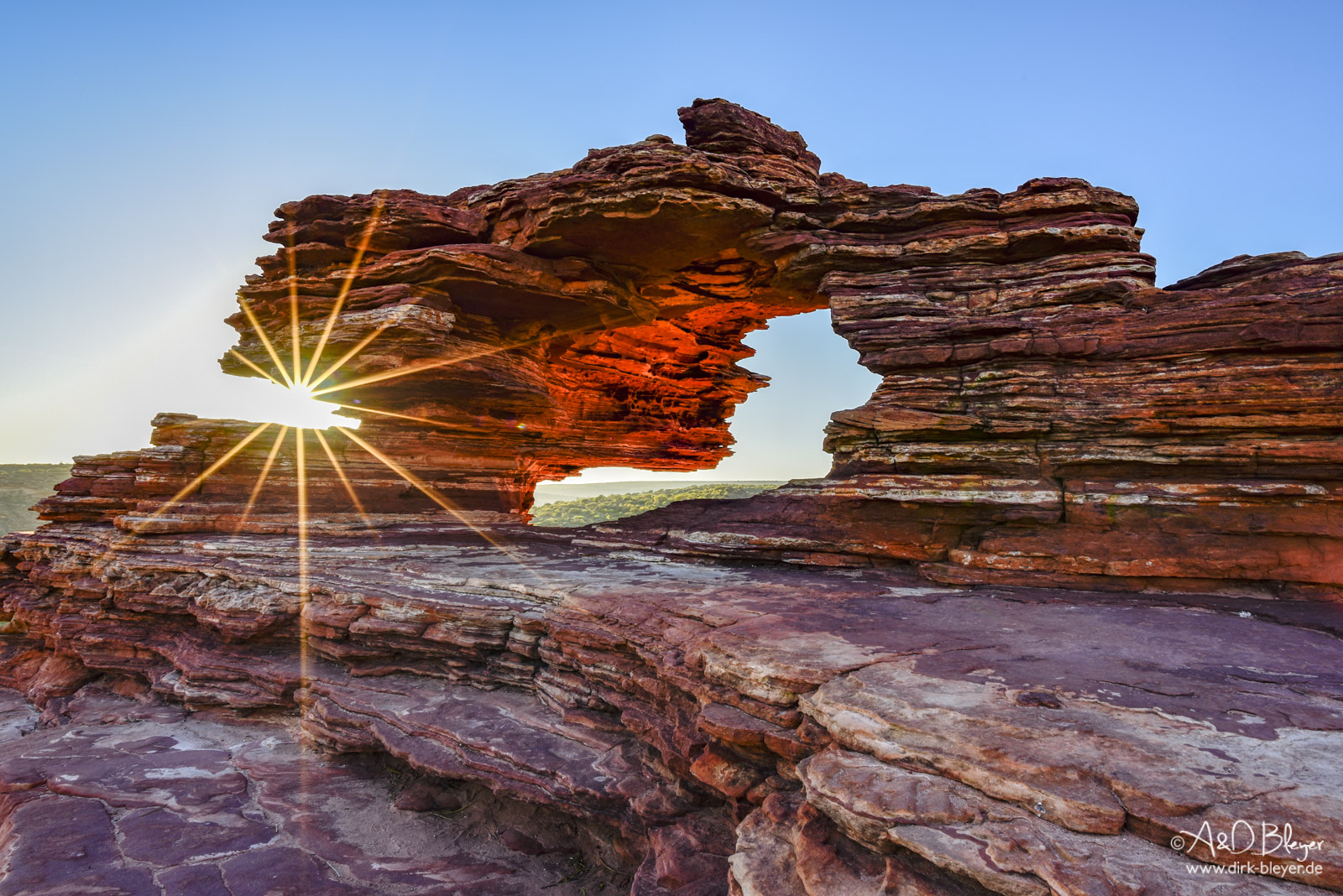 Nature's Window in Kalbarri Nationalpark
